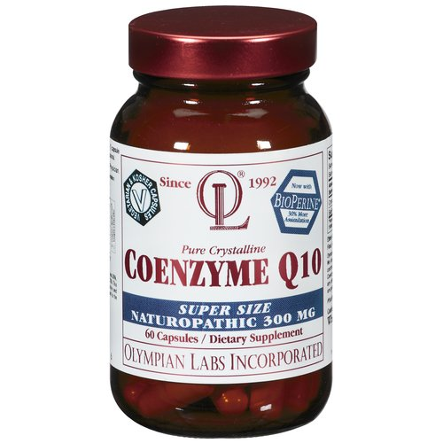 Olympian Labs Coenzyme Q10 Dietary Supplement, 300 mg, 60 count