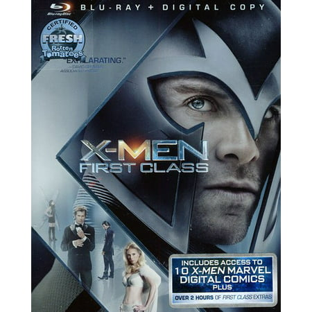 X-Men: First Class (Blu-ray + Digital Copy)