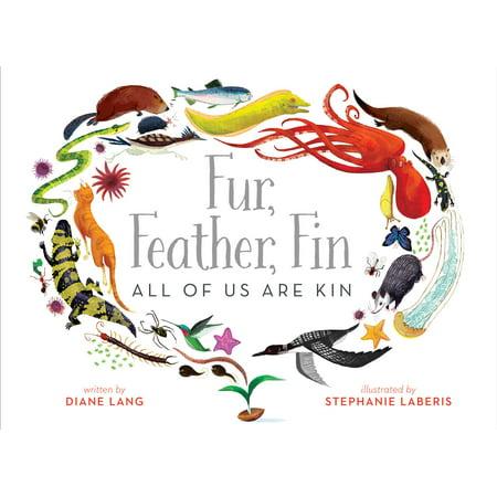 Fur, Feather, Fin—All of Us Are Kin (Karte Schlüssel Für Kids)
