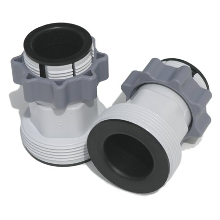 Hose Conversion Adapters Kit, Pair of 2, Part: 10722 By Intex