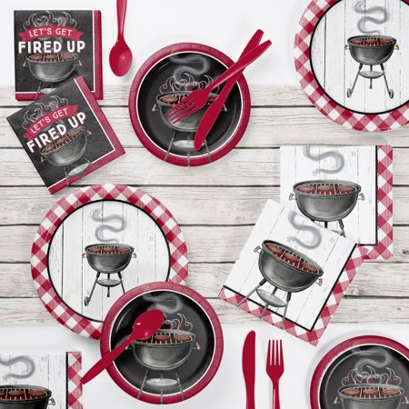 Backyard BBQ Party Supplies Kit](Backyard Bbq Party Supplies)