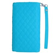 Insten Book-Style Leather Case For iPhone 6 6s / HTC One M7 M8 LG Tribute HD X Style Google Nexus 5 K7 / Motorola Droid Maxx Moto G (3rd Gen) / Samsung Galaxy Sol On5 Grand Prime S3 S4 - Light Blue