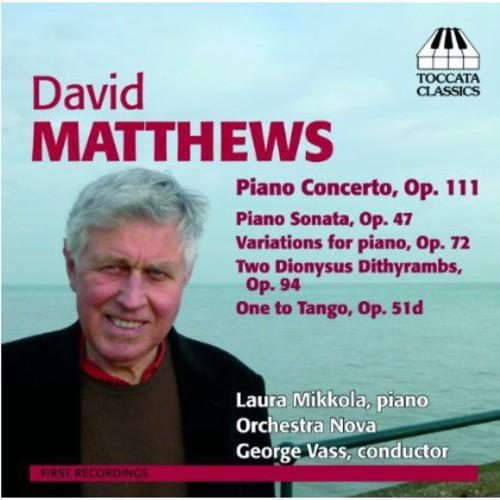 David Matthews - David Matthews: Music for Piano [CD]