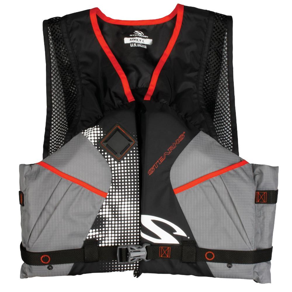 Stearns Comfort Paddle Vest, Black by COLEMAN