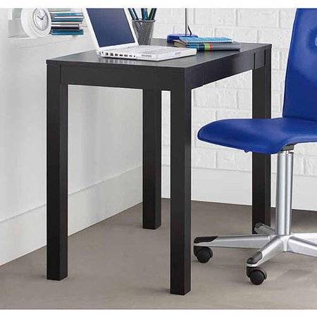 Altra Furniture Parsons Writing Desk in Black