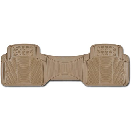 bdk 1 piece ridged rubber floor mats car suv van and