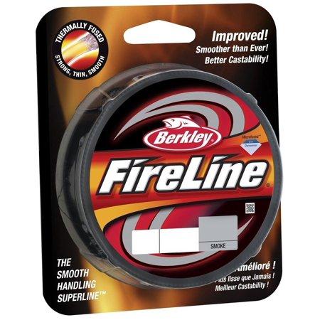 Berkley Fireline 300yd Spool - Berkley Fireline Fused Original Superline 300 Yd spool(8/3-Pound,Smoke)