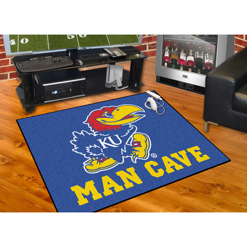 FANMATS NCAA University of Kansas Man Cave All-Star
