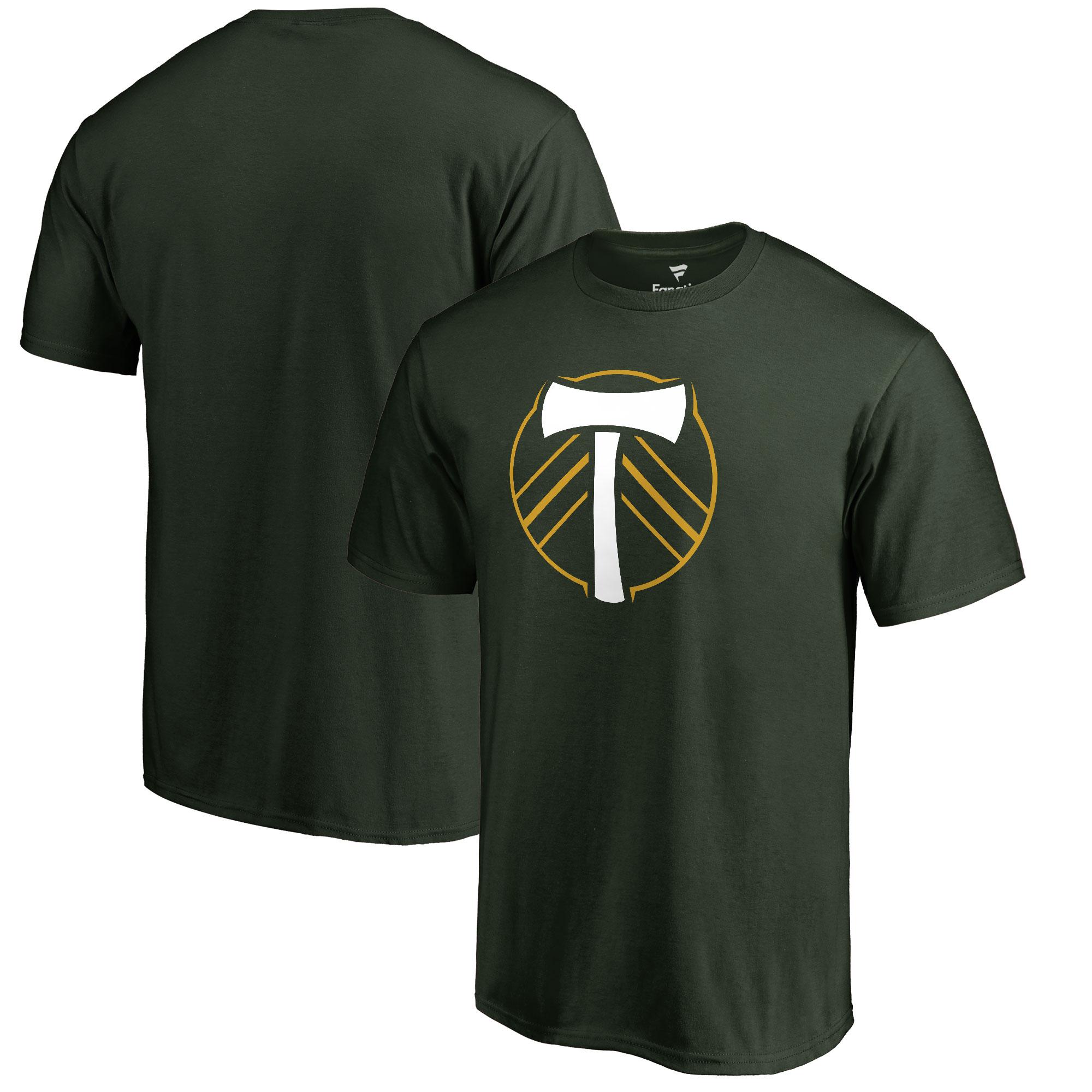 Portland Timbers Fanatics Branded Primary Logo T-Shirt - Green