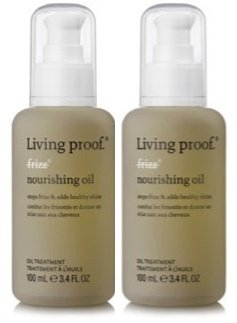 No Frizz Nourishing Oil 3.4 oz by Living Proof (Set of 2)