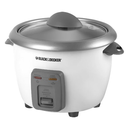 COOKER RICE 6CUP W/STMR BASKET