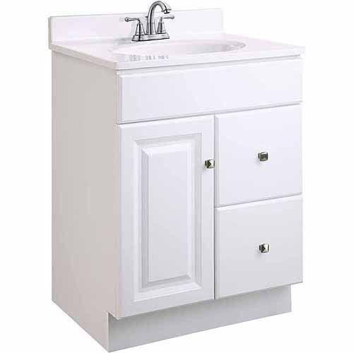 Design House 545004 Wyndham White Semi Gloss Vanity