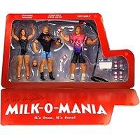WWE Wrestling Epic Moments Milk Truck Episode Action Figure Set [Kurt Angle, Steve Austin & Stephanie McMahon]