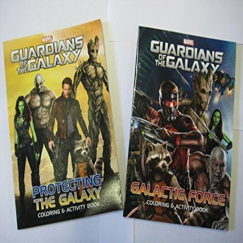 Guardians of the Galaxy Coloring & Activity Book Set Marv...