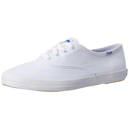keds women's champion original canvas sneaker, white, 13 n us (Keds Women Champion Dot)