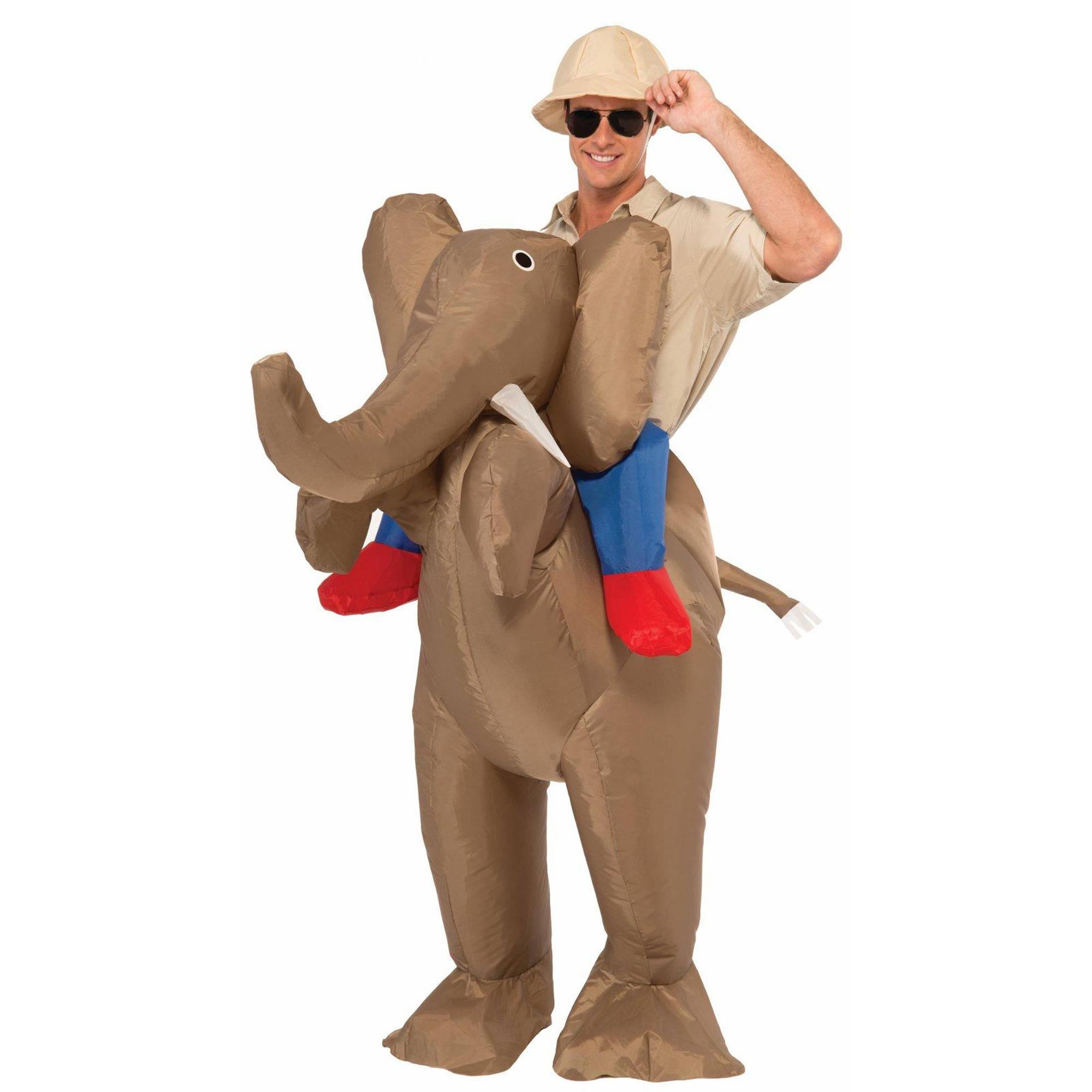 Inflatable Elephant Adult Halloween Costume, 1 Size