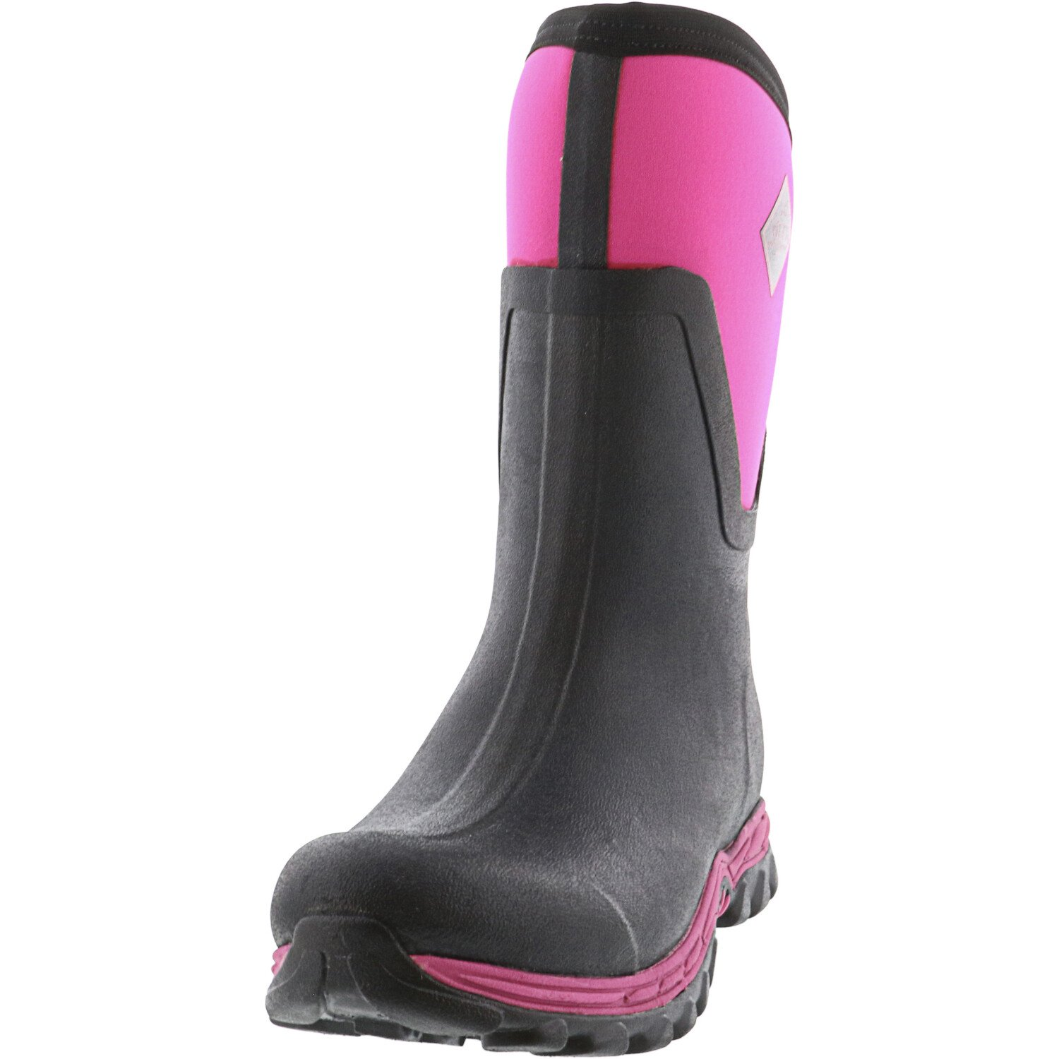 Muck Boot Womens Company Arctic Sport Mid II Boots Black//Coral