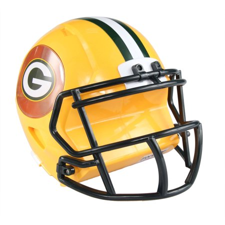 Forever Collectibles NFL Mini Helmet Bank, Green Bay (Green Bay Packers Nfl 3d Helmet Brxlz Puzzle)