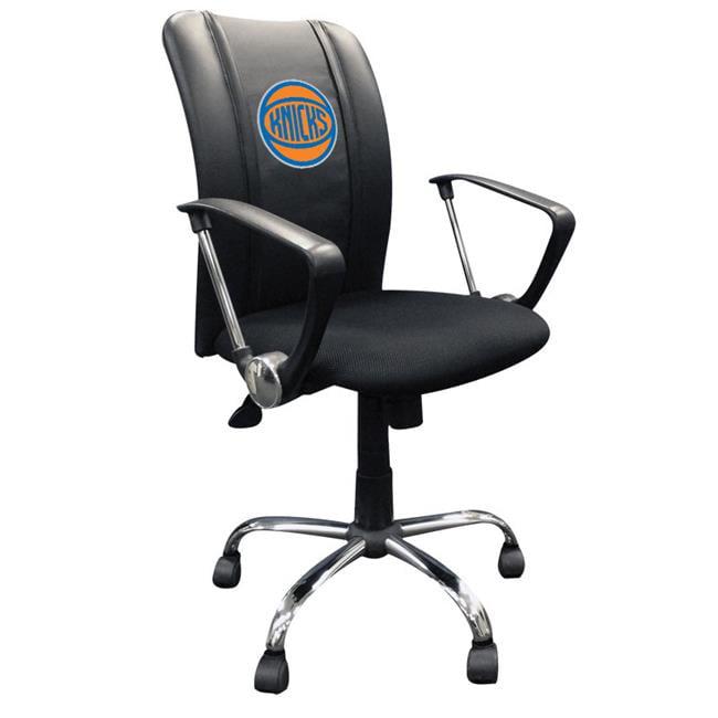 Dreamseat XZOCCURVE-PSNBA31092 New York Knicks NBA Curve Task Chair with Secondary Logo Panel - image 1 of 1