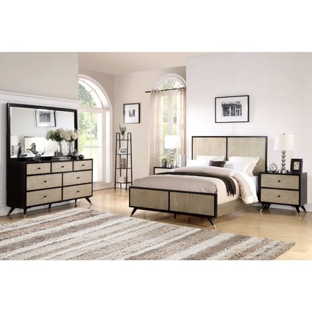 Abbyson Lennon Mid Century 5 Piece Bedroom Set