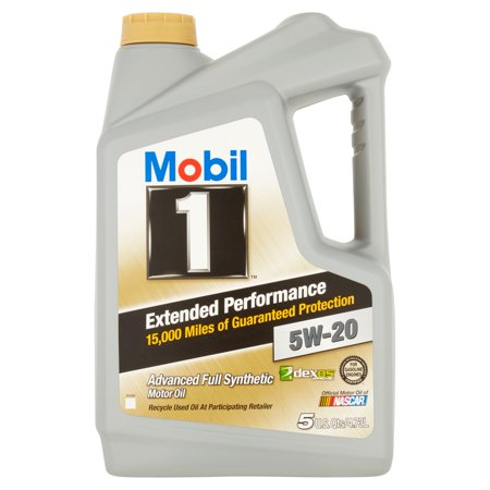 mobil 1 5w 20 extended performance full synthetic motor