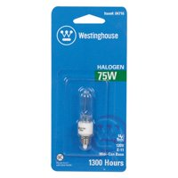 Westinghouse Lighting 75W E11 Dimmable Halogen Edison Stick Light Bulb