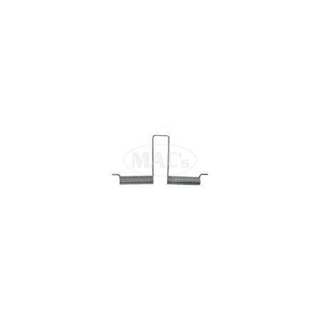 MACs Auto Parts Premier  Products 49-26953 Rear License Plate Bracket Spring - Ford Except Sedan Delivery & Station (Sedan Delivery Wagon)