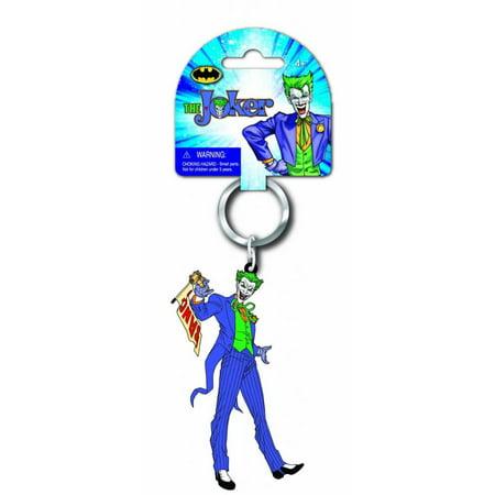 Rubber Duckie Keychain (The Joker Batman Laser Cut Rubber Keychain)