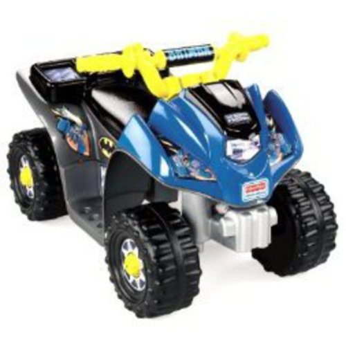 Fisher-Price Power Wheels Batman Lil' Quad 6-Volt Battery-Powered Ride-On