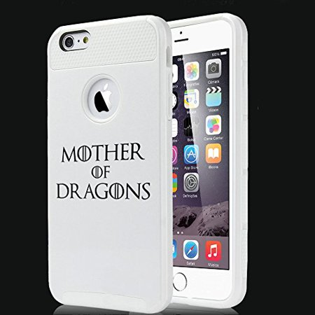 For Apple iPhone 5 5s Shockproof Impact Hard Soft Case Cover Mother Of Dragons (White) - Walmart.com
