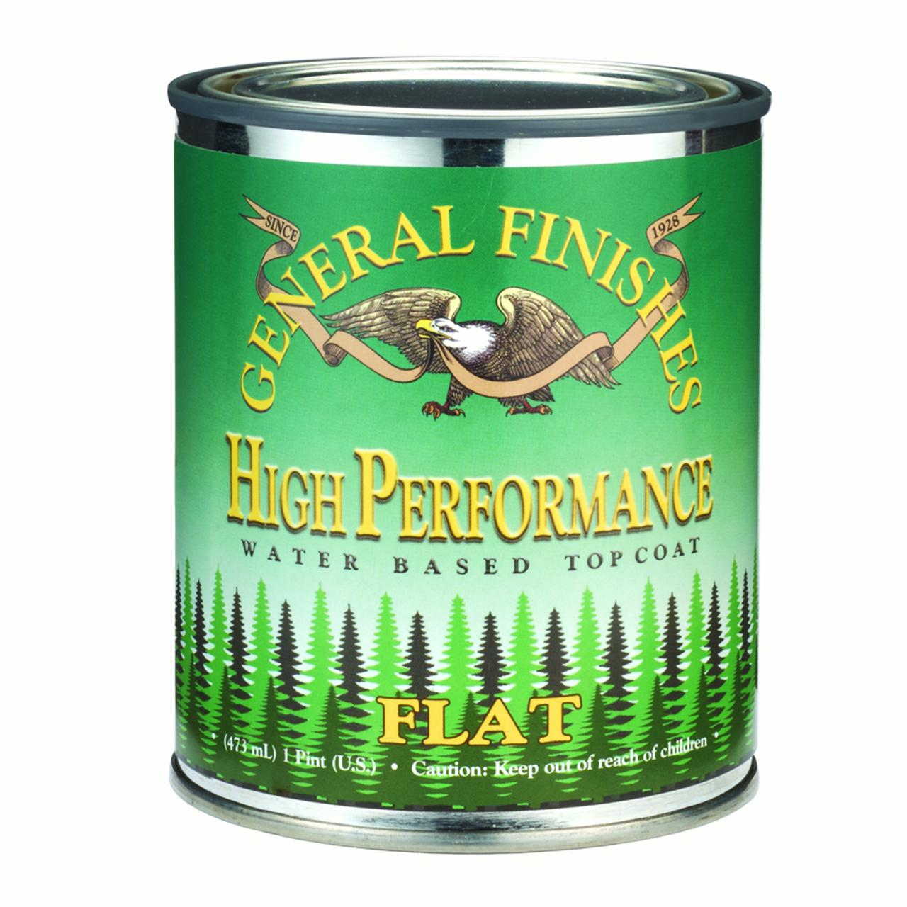 HP Polyurethane WB Flat Finish Pint