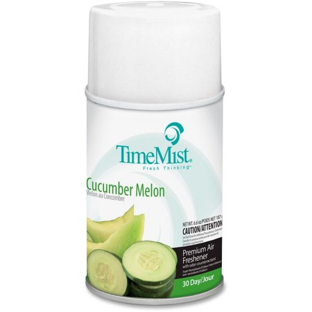 TimeMist Metered Fragrance Dispenser Refill, Cucumber Melon, 6.6oz, Aerosol