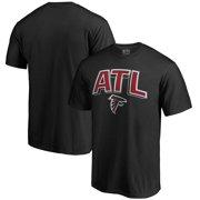 Atlanta Falcons NFL Pro Line by Fanatics Branded Hometown Collection ATL T-Shirt - Black