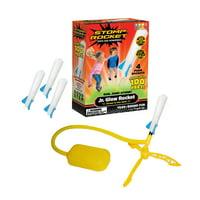 Stomp Rocket Jr. Glow, 4 Rockets