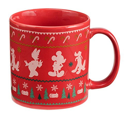 Disney Mickey Mouse Ugly Sweater 20 Oz. Mug