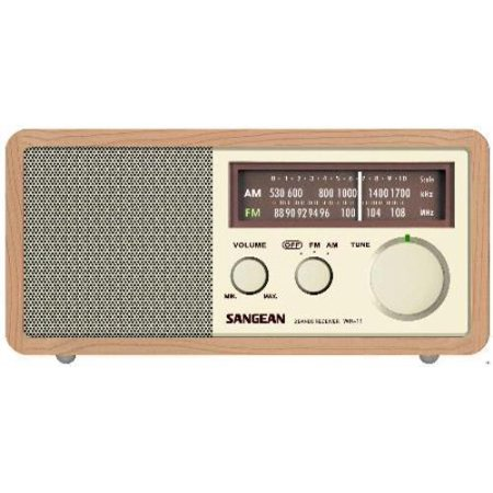 sangean am fm tabletop radio with aux input. Black Bedroom Furniture Sets. Home Design Ideas