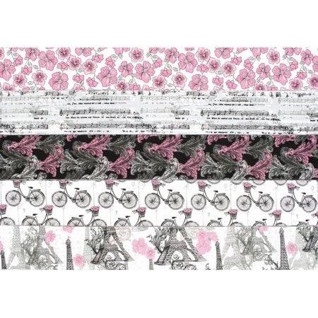 """Quilter's Palette Jellies 2.5""""X42"""" 20/Pkg-Paris Travel - image 1 de 1"""