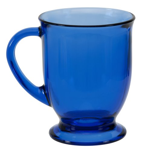 Anchor Hocking 16 oz Cafe Mug, Cobalt