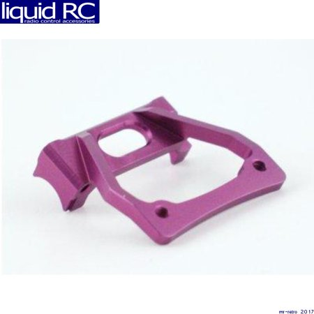 GPM Racing MH0907 HPI Micro RS4 Purple Aluminum Front