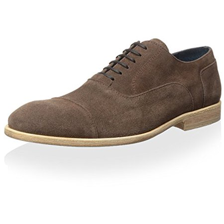 Tiger of Sweden Men's Harry Oxford, Earth Brown, 40 EU/0 US