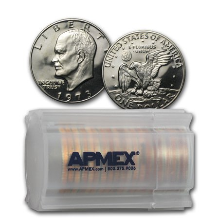1973-S Clad Eisenhower Dollar 20-Coin Roll Gem (Clad Proof Roll)