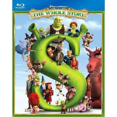 Shrek: The Whole Story Quadrilogy - Shrek / Shrek 2 / Shrek The Third / Shrek Forever After (Blu-ray) (Widescreen)