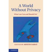 A World without Privacy - eBook