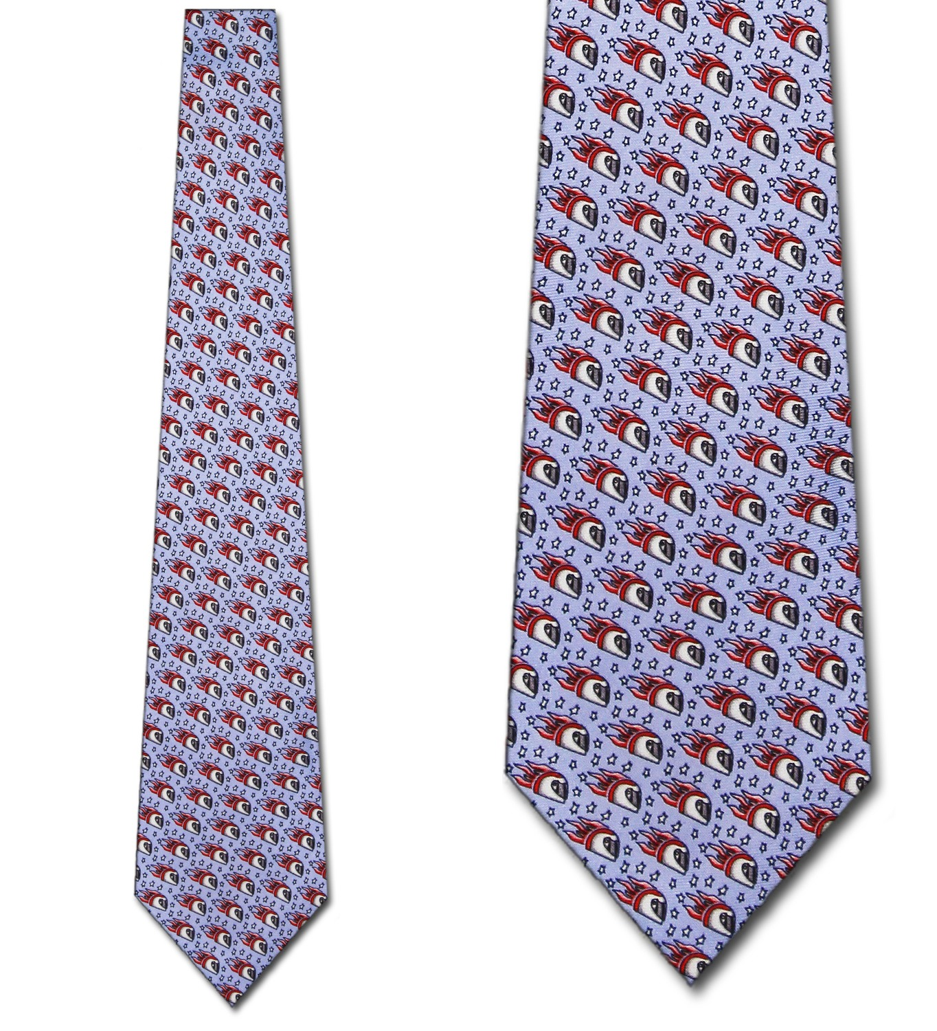 Jimmy V Foundation-Super Mario (Blue) Necktie Mens