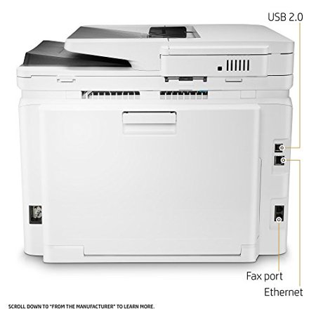 Refurbished Hewlett Packard Inkjet Printers M281fdw Laserjet Pro All In One Color Laser Printer