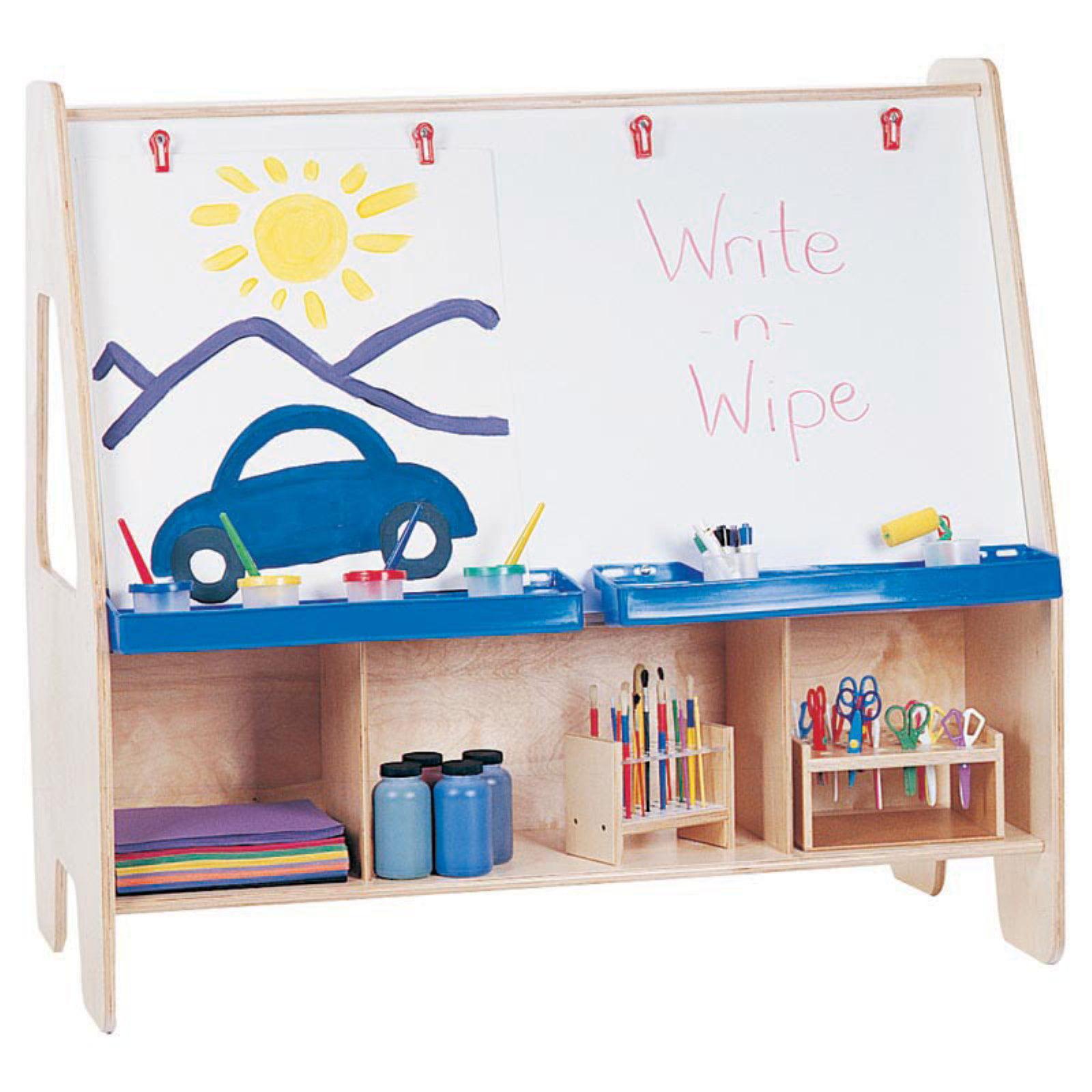 Jonti-Craft Twin Activity Center Childrens Easel