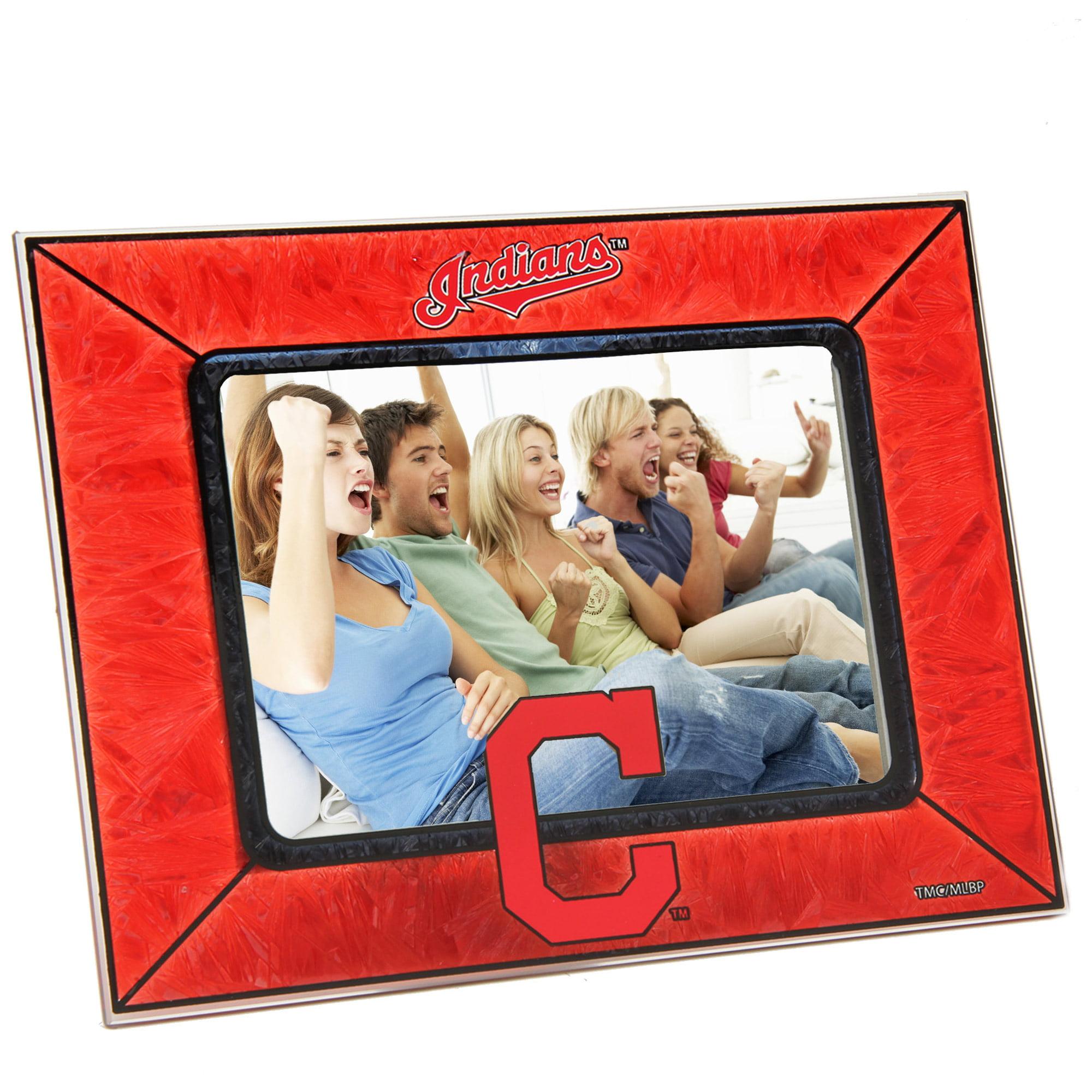 Cleveland Indians Horizontal Art Glass Frame - No Size