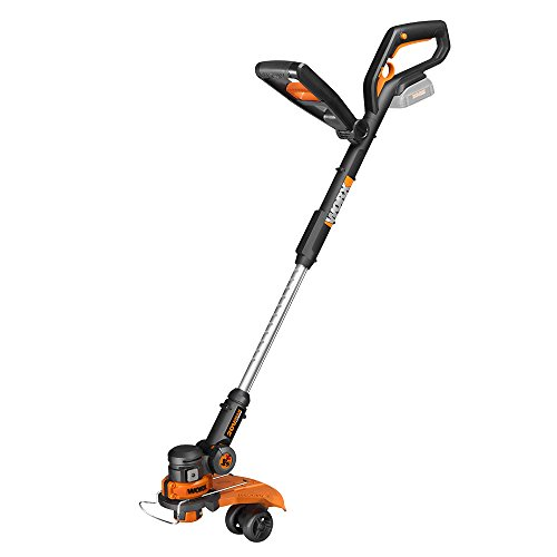 Worx WG160.9 20V Cordless Lithium Grass Trimmer Edger and Mini Mower TOOL ONLY by Positec Technology