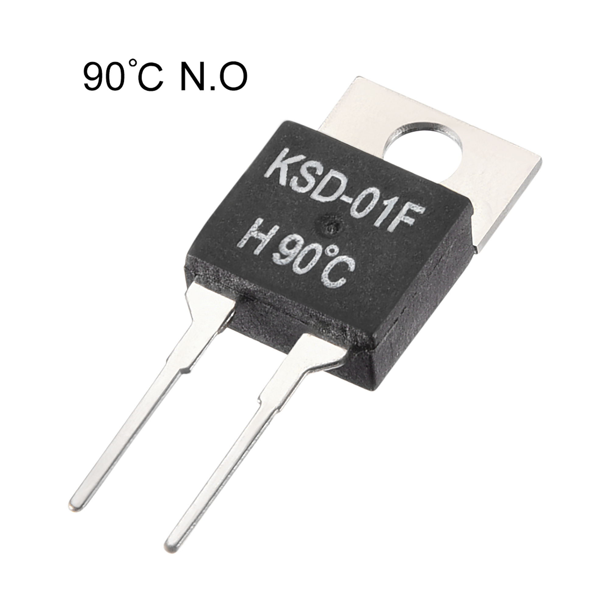 KSD-01F Thermostat, Temperature Controller 90℃ N.O Normal Open 2pcs - image 1 of 3