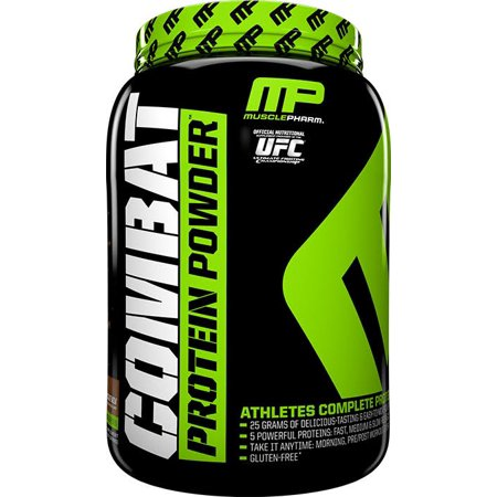 MusclePharm Combat Protein Powder, Chocolate Milk, 25g Protein, 4 Lb